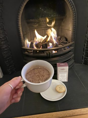 Mince Pie Hot Chocolate