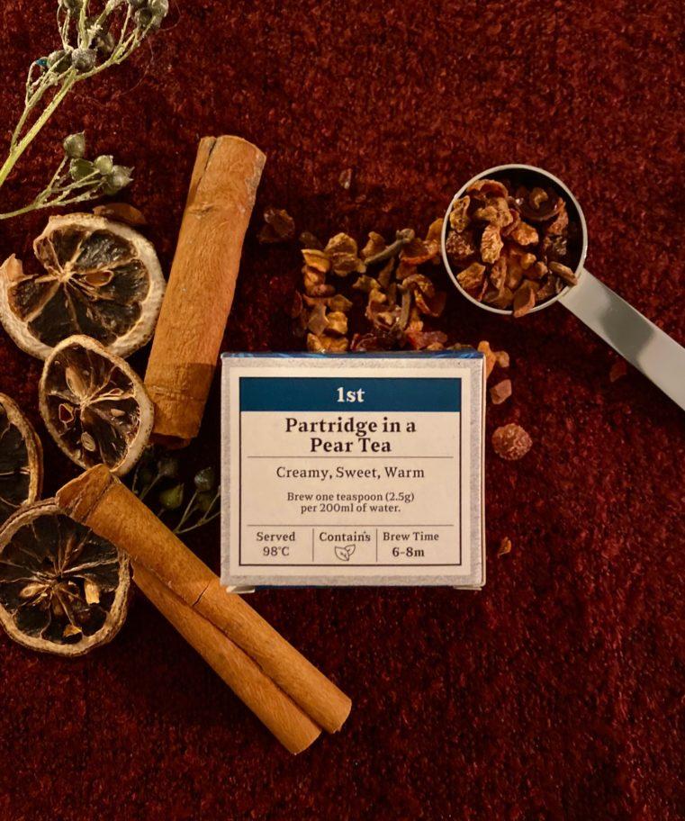 Advent Partridge in a Pear Tea
