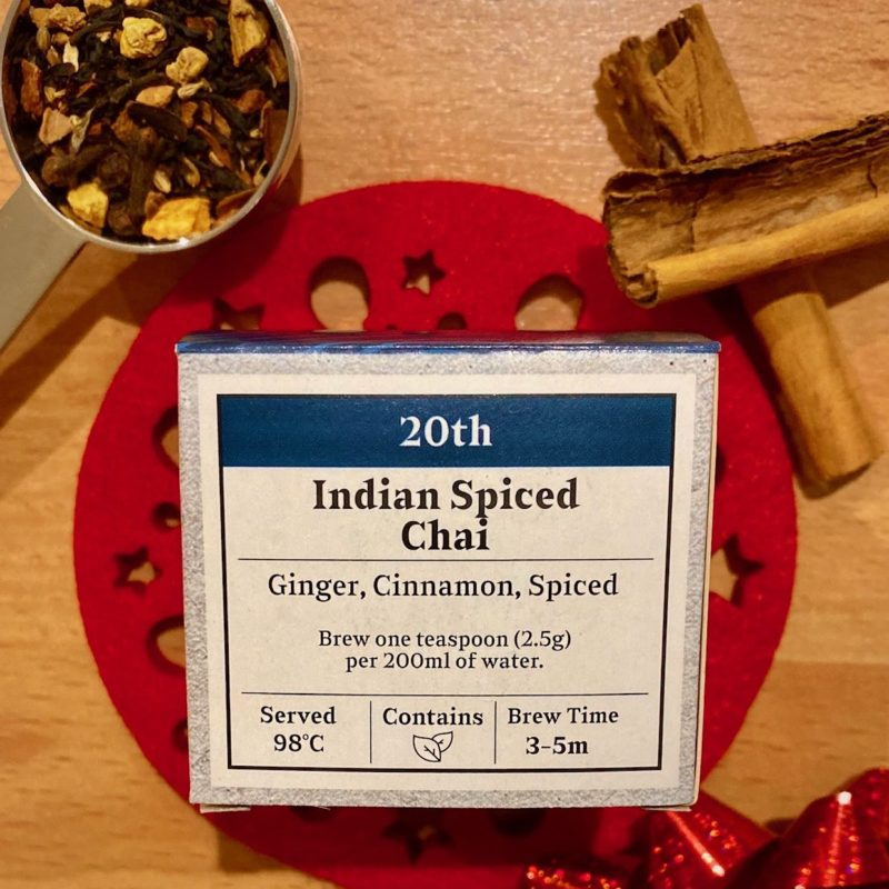 Advent Day 20- Indian Spiced Chai
