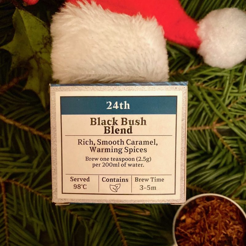 Advent Day 24- Black Bush Blend
