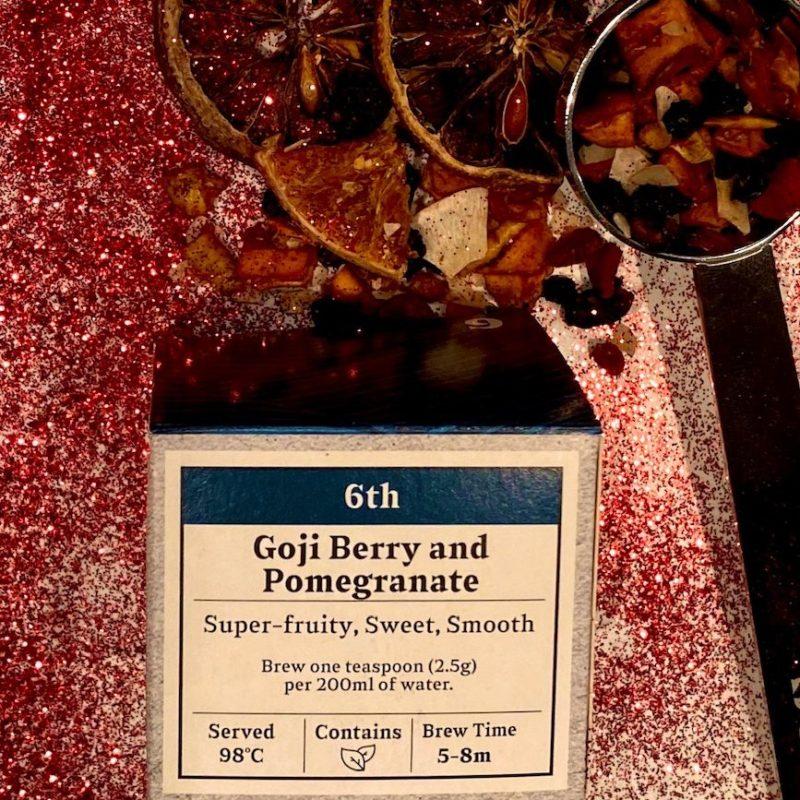 Advent Day 6- Goji Berry & Pomegranate
