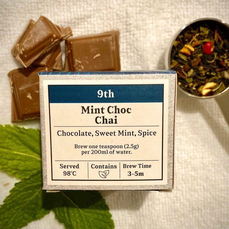 Advent Day 9- Mint Choc Chai