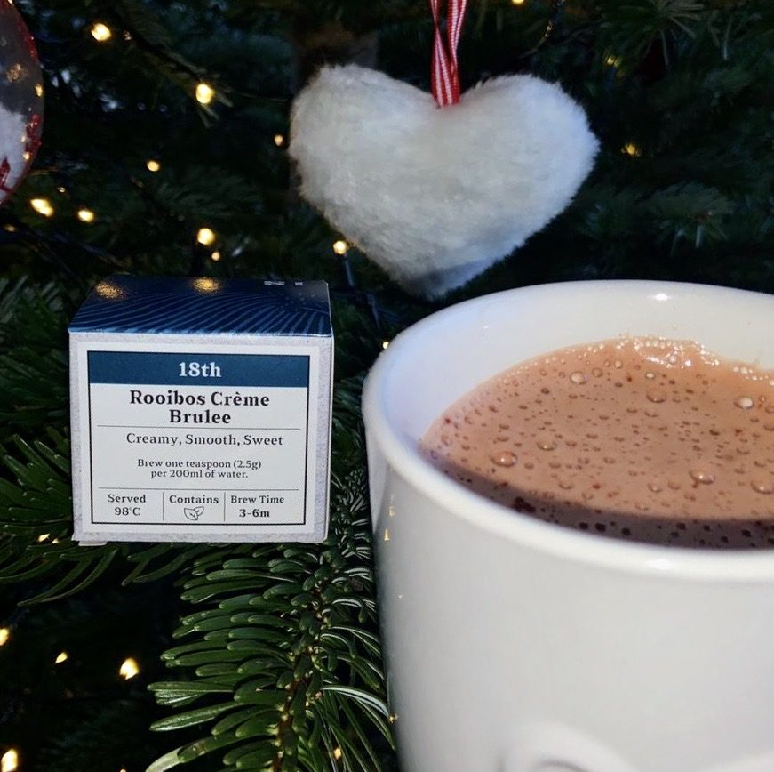 Advent Day 18- Rooibos Crème Brulee