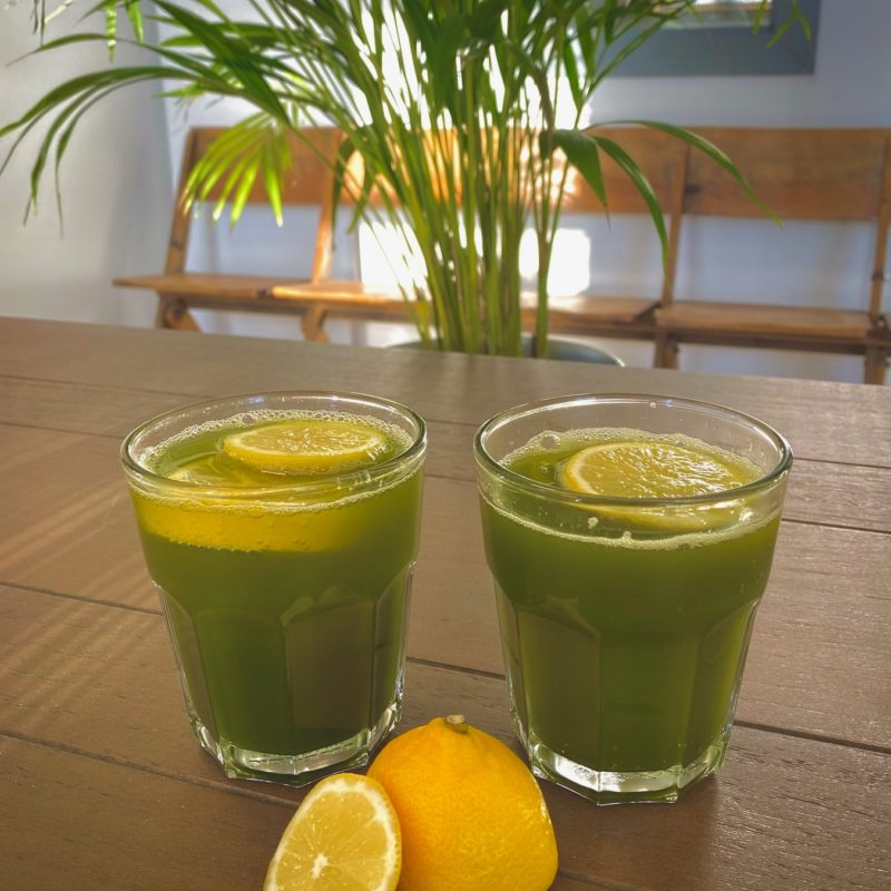 Matcha Fruit Juice