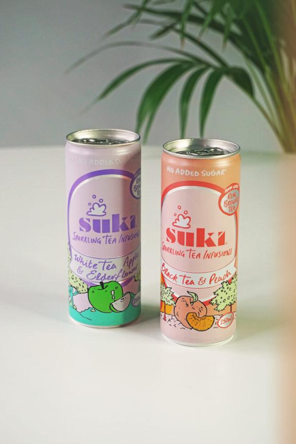 SUKI Sparkling Iced Tea Infusions